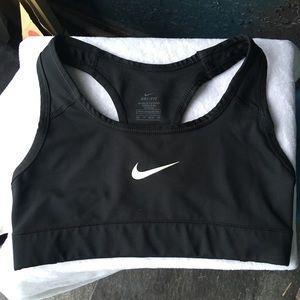 NIKE DRI-FIT black sports bra
